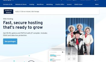 ionos web hosting review